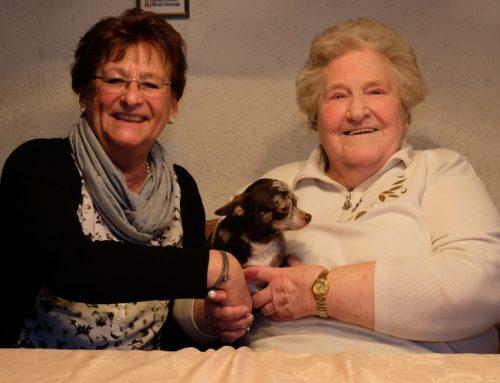 Gerda Lotse feierte 85. Geburtstag