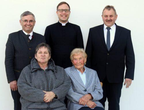 Irmgard Hausberger feierte 90. Geburtstag