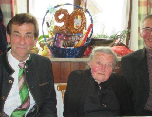Barbara Huber feierte 90. Geburtstag