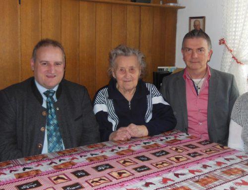 90. Geburtstag von Marianne Hausberger