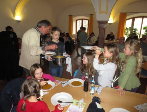 Lohkirchner Pfarrgemeinderat kochte Suppen für guten Zweck