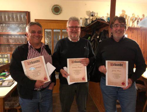 Schafkopffreunde Zangberg feierten 25-jährige Gründung