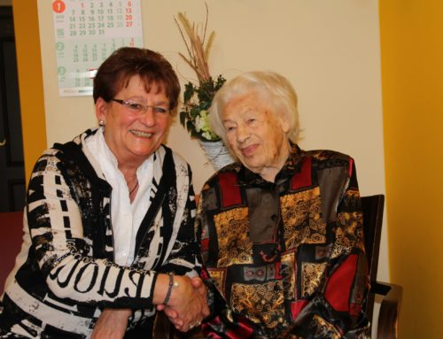 Elfriede Berndt feierte 95. Geburtstag