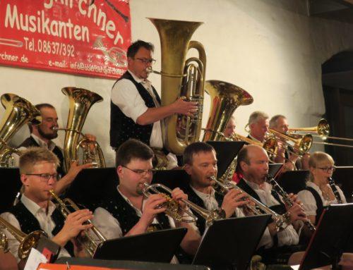 Oberbergkirchner Musikanten spielten zum Osterkonzert auf