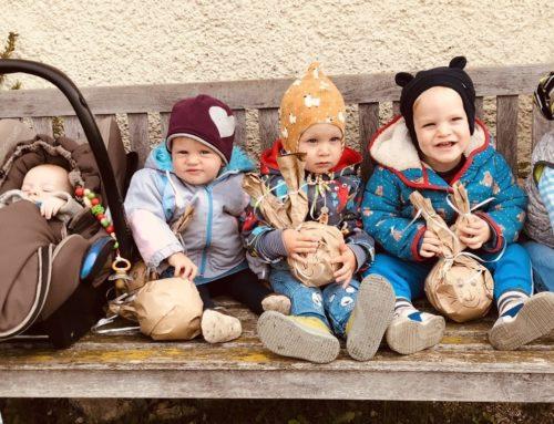 Lohkirchner Mutter-Kind-Gruppe feierte Ostern