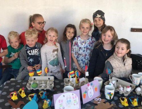 ObeKi erfreute Oberbergkirchner Kinder mit Osterbasteln
