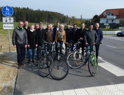 Geh- und Radweg in Lohkirchen eröffnet