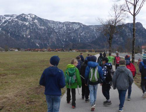 Oberbergkirchner Grundschüler im Sportcamp in Inzell