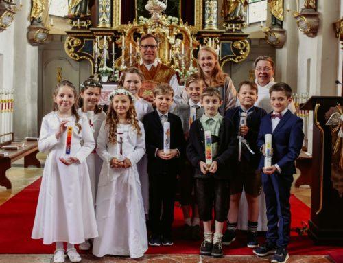 Erstkommunion in Oberbergkirchen