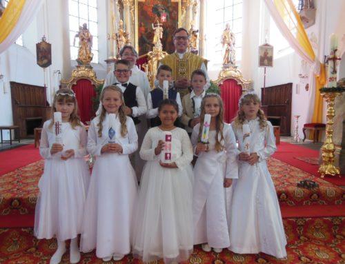 Pfarrei Schönberg feierte Erstkommunion