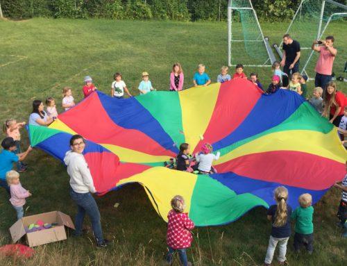 Kindertagesstätte Lohkirchen feierte fröhliches Grillfest