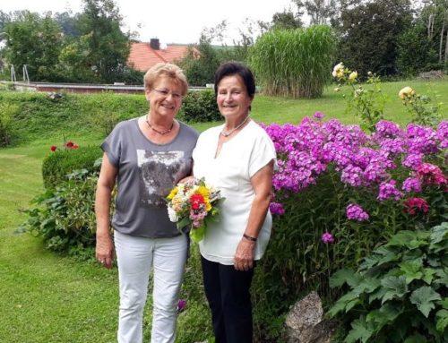 Martha Ammer feierte 80. Geburtstag