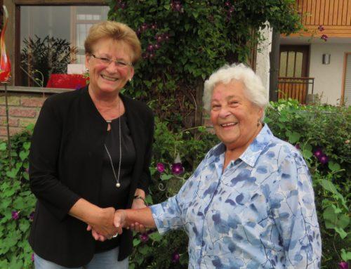 Luise Bärnatzky feierte 85. Geburtstag