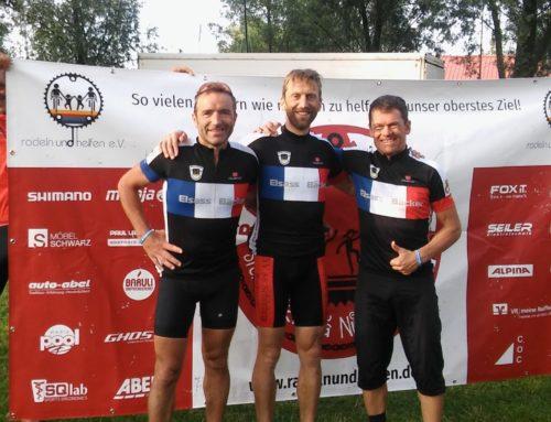 Team Elsass-Bäcker Schönberg radelte für guten Zweck