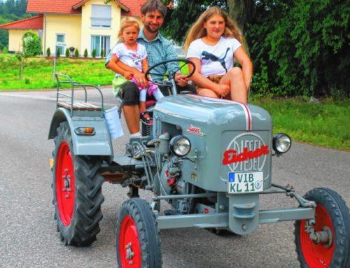 Oberbergkirchner feierten 25. Dorffest und sagten Auf Wiedersehen