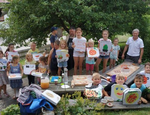 Pizzabacken beim Ferienprogramm VG Oberbergkirchen