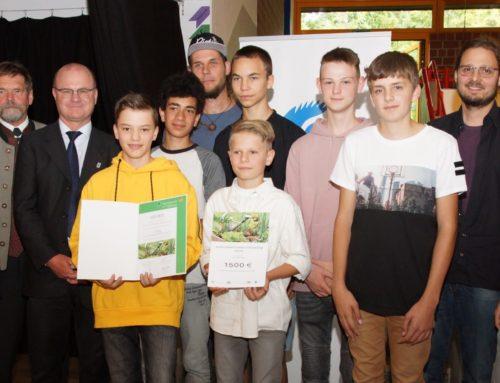 Montessori-Schule Eberharting siegte beim bayerischen Schulgarten-Wettbewerb