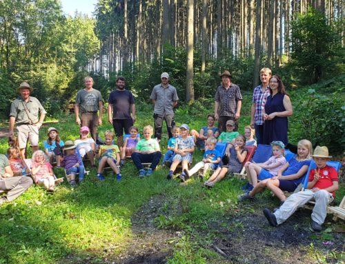 Ferienprogramm der Oberbergkirchner Jäger Tierisch was los im Wald