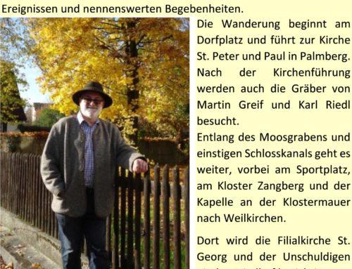 Herbstliche Wanderung in Zangberg