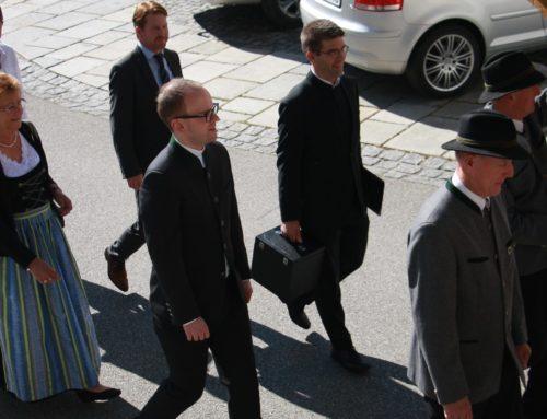 Pfarrer Ringhof von der Pfarrgemeinde Zangberg verabschiedet