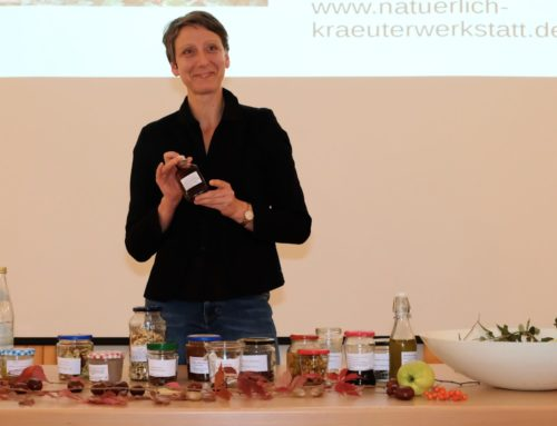 Heidi Fürlauf referierte in Zangberg über Nützliches aus der Natur