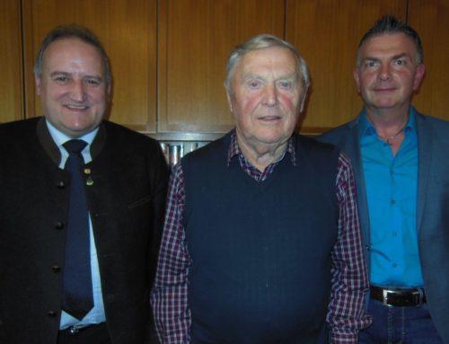 Leonhard Huber feierte 85. Geburtstag