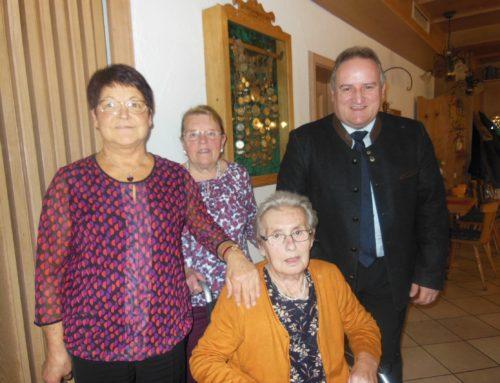 Auguste Brams feierte 90. Geburtstag