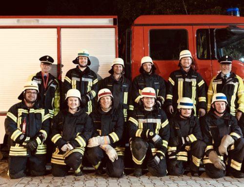 Oberbergkirchner Feuerwehrler legten erfolgreich Leistungsprüfung ab