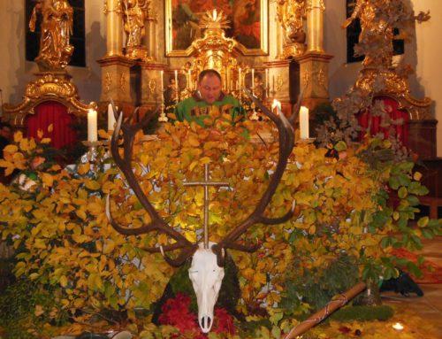 Hubertusmesse in der Schönberger Kirche gefeiert