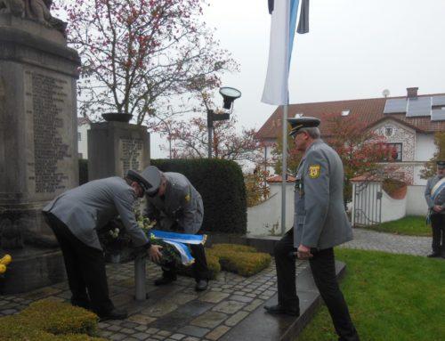 Gemeinde Schönberg erinnerte an Kriegsopfer