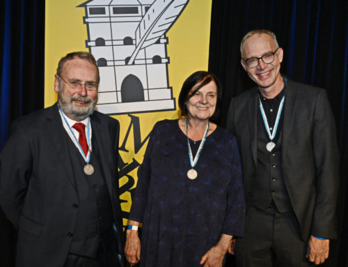 Maria Peschek erhielt Preis der Münchner Turmschreiber