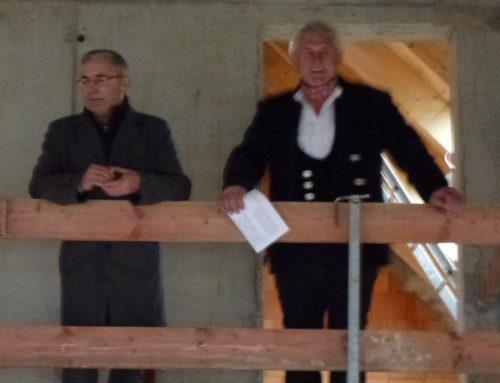 Hebefeier für neues Kinderhaus in Oberbergkirchen