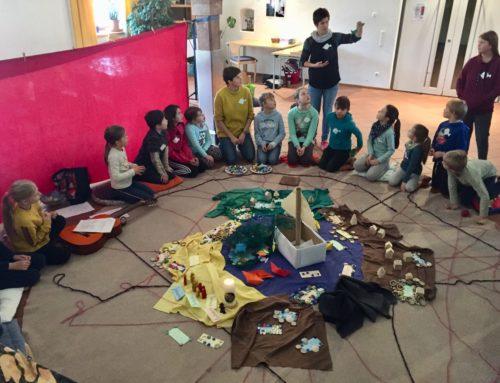 Lohkirchner Kinderbibeltag mit vielen interessierten Kindern