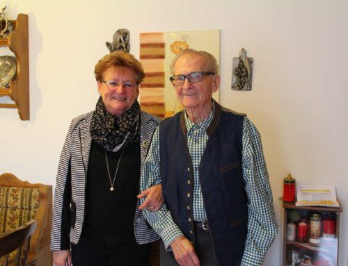 Willi Mikolajetz feierte 90. Geburtstag
