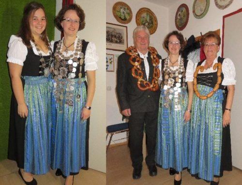 Zangberger Edelweiß-Bayerntreu Schützen kürten Königinnen