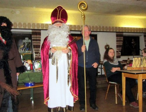 Nikolaus besuchte Johannesschützen Aspertsham bei Weihnachtsfeier