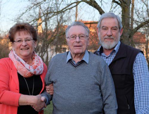 Georg Huber aus Zangberg feierte 85. Geburtstag