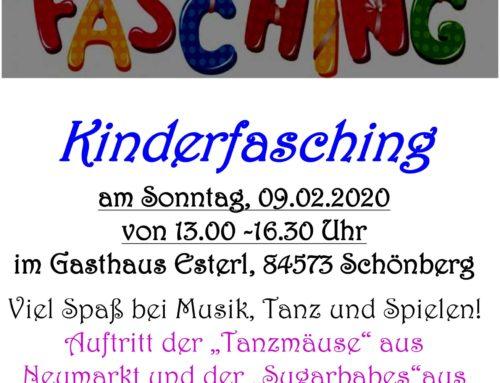 Kinderfasching der Kindertagesstätte St. Michael, Schönberg