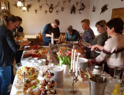 Lohkirchner Landfrauen veranstalteten Frühstück