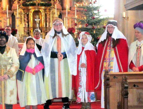 Sternsinger zogen durch die Pfarrei Aspertsham