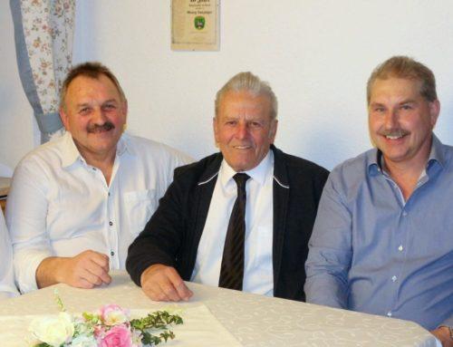 Georg Lanzinger feierte 80. Geburtstag