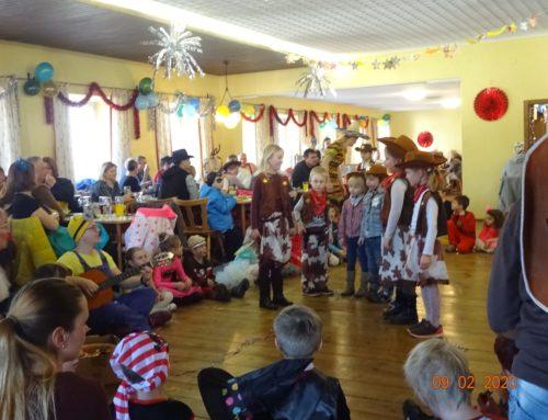 Schönberger Kinder feierten Fasching