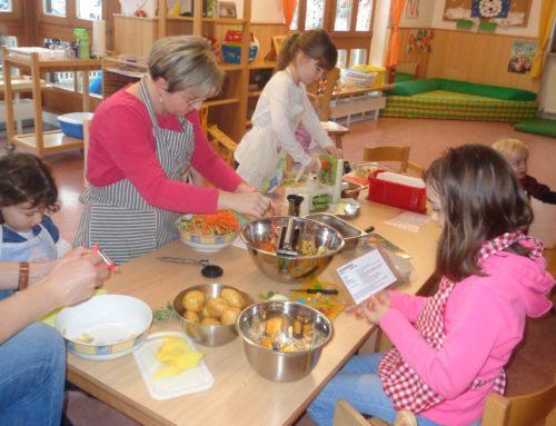 Kita St. Michael in Schönberg kochte mit Eltern und Kindern