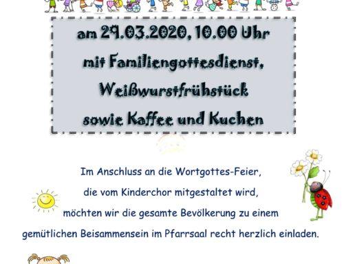 Lohkirchner Kita feiert Frühlingsfest