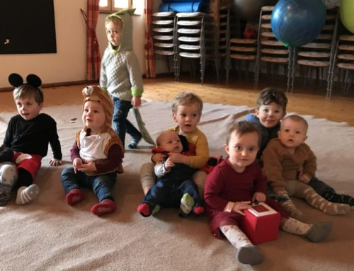 Mutter-Kind-Gruppe aus Lohkirchen feierte Fasching