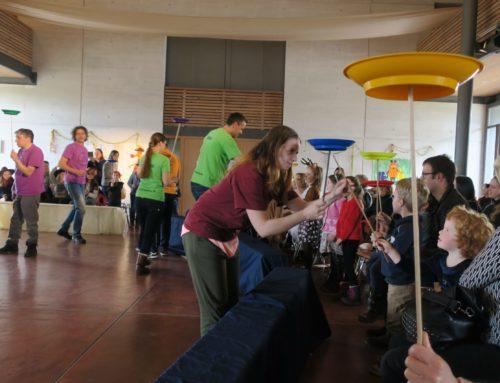 Musikfreunde Oberbergkirchen/Zangberg boten tolle Show mit Zirkus und Musik