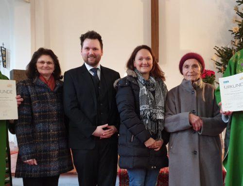 Pfarrkuratie Zangberg verabschiedete und ehrte Mitarbeiterinnen