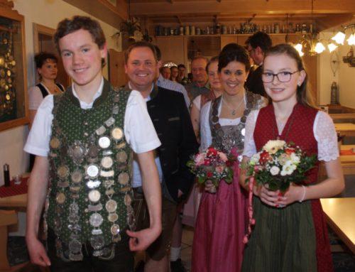 Lohkirchner Eichenlaubschützen feierten Schützenball