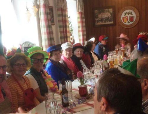 Lohkirchner Senioren feierten Fasching