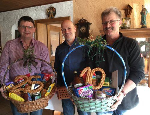 Ziegelwerk Holzner in Aubenham ehrte langjährige Mitarbeiter